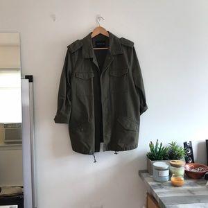 Military Jacket Size Large
